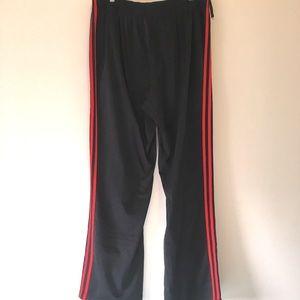 ADIDAS Retro Red Stripes Track Pants XL